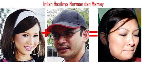 Hasil Khalwat Norman dan Memey