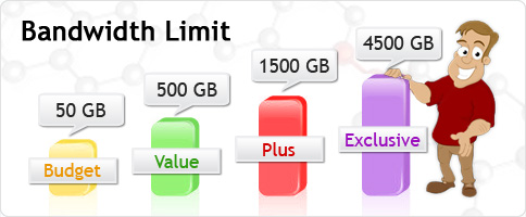 Bandwidth Limit Untuk Blog
