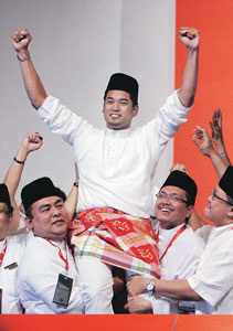 Keputusan Pemilihan UMNO 2008