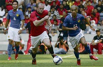Woww Malaysia Lawan MANCHESTER United