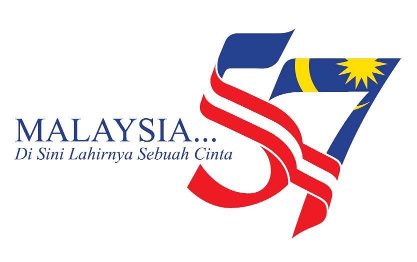 Logo dan Tema Hari Kemerdekaan Ke-57