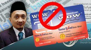 Simcard Tone Excel Haram kerana berunsur helah dan riba tanpa sedar (2)