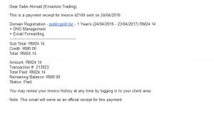 invoice publicgold biz