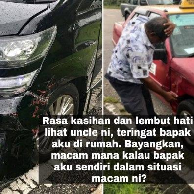 Pemandu Teksi Berbangsa India Ini Terlanggar Kereta Alphard Melayu Ini. Tapi Tak Sangka Lelaki Ini Balas Dengan Cara Ini